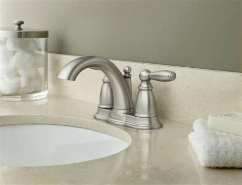 moen bn brantford  handle centerset lavatory faucet