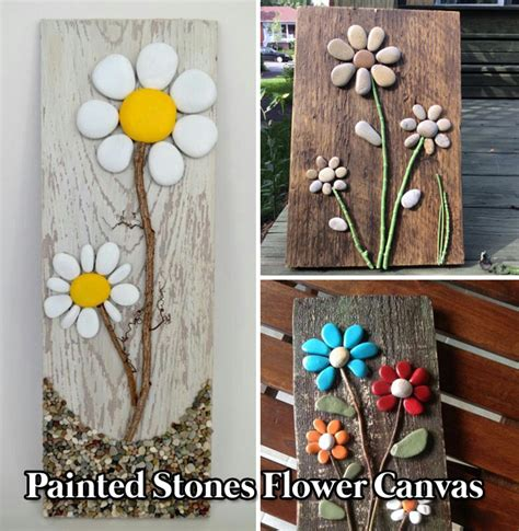 diy painted stone decorations