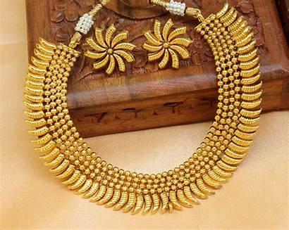 Gold Necklace Designs Designer Jewellery Indian Mirraw
