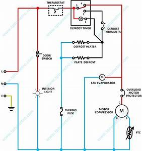 No Frost Refrigerator Electricity Diagram