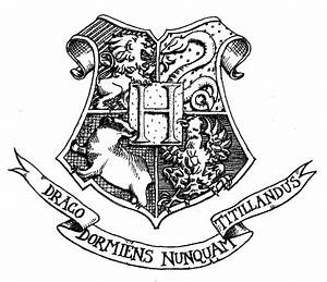 Harry Potter House Symbols Coloring Coloring Pages
