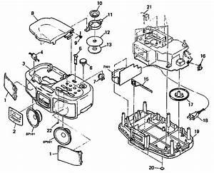 Sony Boombox Parts