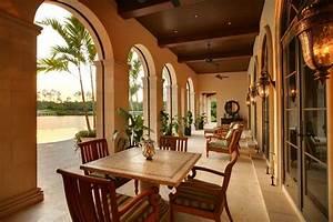 Private, Residence, Naples, Florida, -, Mediterranean, -, Patio, -, Miami