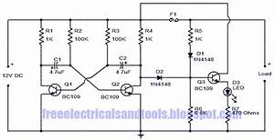 Wiring Diagram For Car  Fuse Circuit With Status Indicator