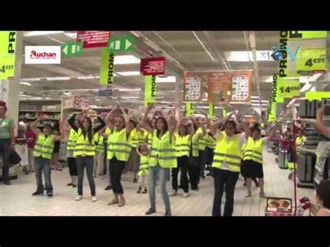 auchan le pontet recrutement flashmob auchan le pontet