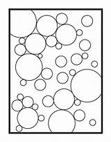 Bubbles Coloring Pages Single Abstract Etsy Colouring Digital Adult Texture Flower Sheets Drawing Sold Painting sketch template