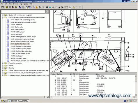 volvo construction equipment prosis  repair manual