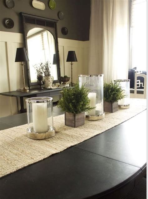 Dining Table Centerpiece Ideas For Everyday by Dining Room Table Decor Home Sweet Home Pinterest