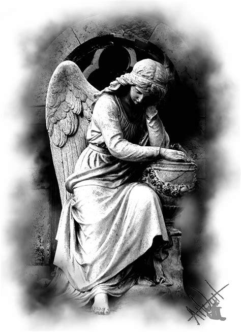 angel statue tattoo design | Angeles | Tatuajes religiosos, Tatuaje griego y Tatuaje angel