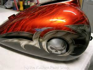 Harley Custom Motorcycle Paint Jobs