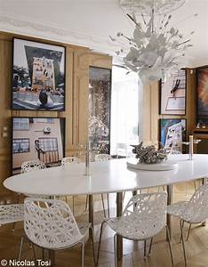 Salle A Manger Chic : une d coration chic glamour elle d coration ~ Nature-et-papiers.com Idées de Décoration