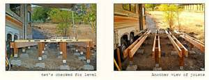 Home Depot Treated Deck Boards by Awesome Rv Deck Design Ideas How To Build A Deck