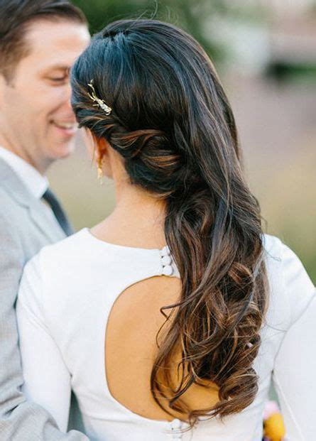 Formal Hairstyles On The Side by Soft Curls Pinned Back To One Side Prom Side