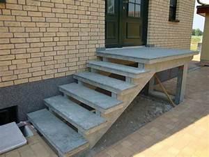 Außen Treppenstufen Beton : au entreppen aus granit oder waschbeton ~ Michelbontemps.com Haus und Dekorationen