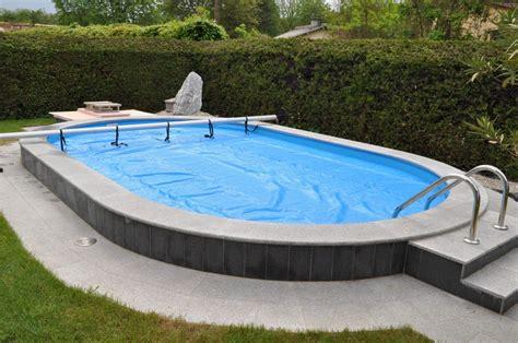 pool oval stahlwand pool oval studio design gallery best design