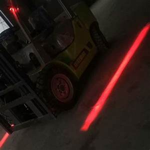 Xrll Red Laser Halo Lights For Trucks Red Zone Forklift Safety Warning Light Manufacturer And