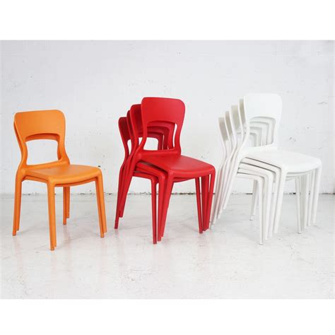 modern plastic stacking chair colourful chair plastic