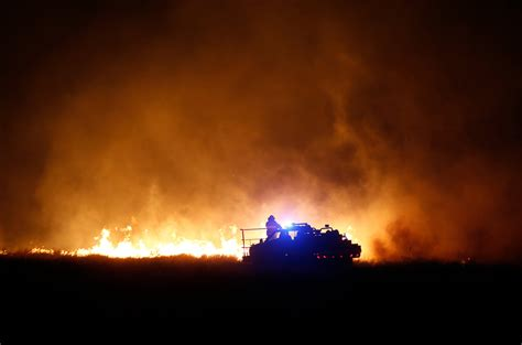 parched prairie fires scorch  square
