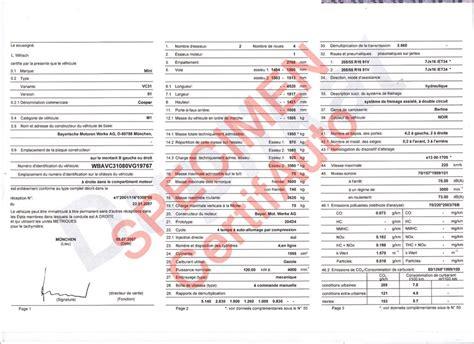 site officiel certifauto france certificat de conformite