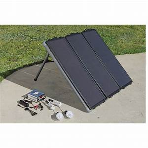 Simply Connect The Solar Panels To Your Own 12 Volt Dc Storage Battery  And Then Use At Least A