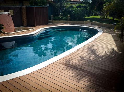 timber tech reliaboard composite pool deck