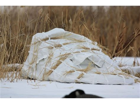 avery migrator m 2 layout blind in kw 1 camo 01399 ebay prairiewind decoys snow covers for migrator blinds by Awesome