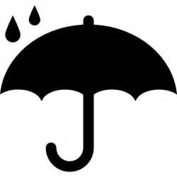 Under Umbrella Silhouette