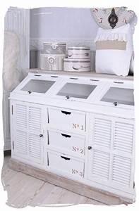 Sideboard Weiß Antik : vintage anrichte sideboard weiss schrank shabby chic wandschrank antik k niglich ~ Orissabook.com Haus und Dekorationen