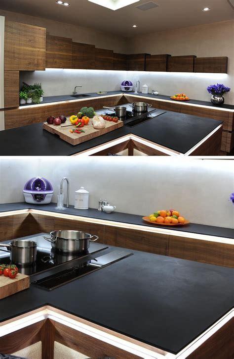 kitchen design idea  unconventional materials