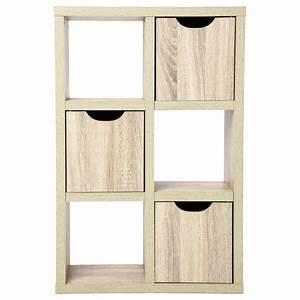 Meuble Cube But : meuble 6 cubes 3 portes bivoak naturel ~ Teatrodelosmanantiales.com Idées de Décoration