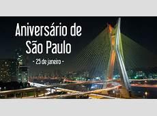 Aniversário de São Paulo 25 de janeiro