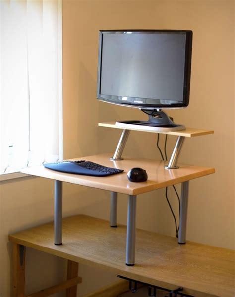 standing desk   ikea parts