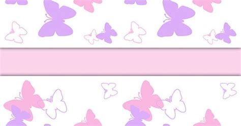 butterfly nursery decor wallpaper border pink purple wall decals baby girl room childrens