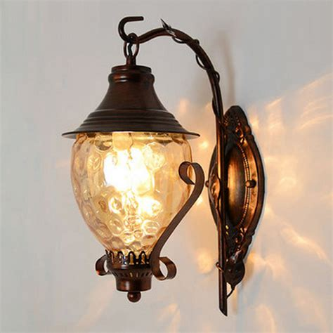 corner l metal wall sconce antique bedside ls