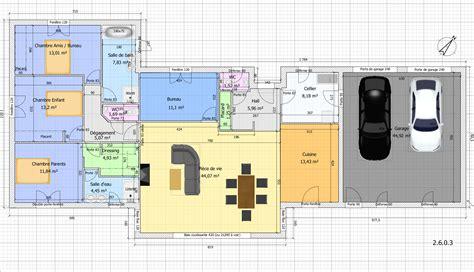 maison plain pied 5 chambres plan maison plain pied 5 chambres avec suite parentale
