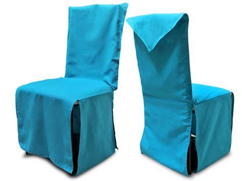 housse de dossier de chaise housse de chaise turquoise