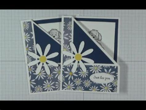 peek  boo fun fold card  stampin  daisy delight