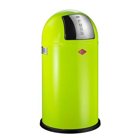 lime green kitchen bin buy wesco pushboy bin 50l lime green amara 7089