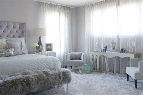 modern glam transitional bedroom  york  susan