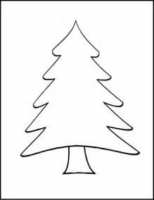 christmas tree line drawing cliparts co