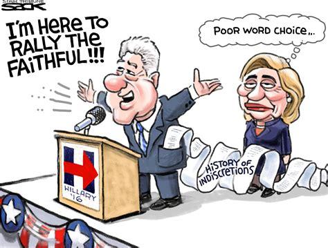 Sack cartoon: Bill Clinton - StarTribune.com