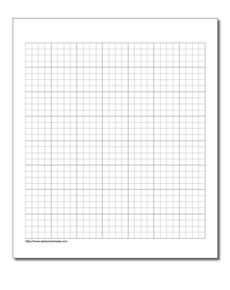 division worksheets on graph paper graph paper
