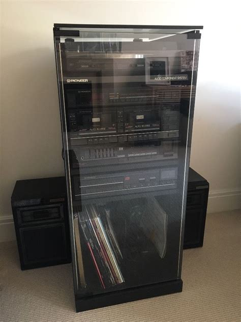 audio component cabinet pioneer audio component system hifi cabinet in warwick