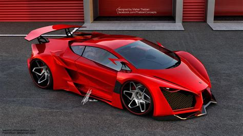 Concept Lamborghini Sinistro By Maher Thebian Mycarzilla