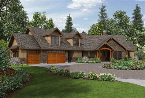 amazing western ranch style house plans  home plans design