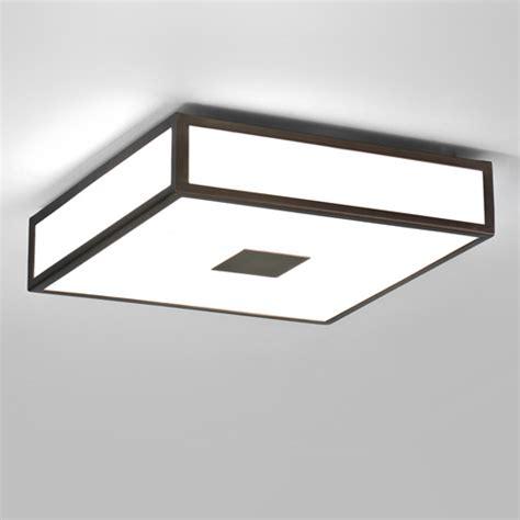 ax0639 mashiko 300 bronze square bathroom ceiling light