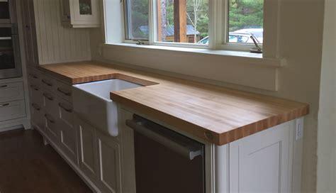 comptoire cuisine comptoirs en bois signature stéphane dion