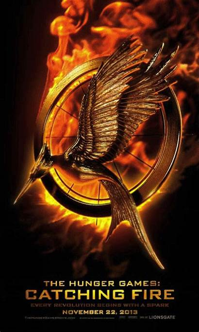 Hunger Catching Fire Games Poster Mockingjay Katniss