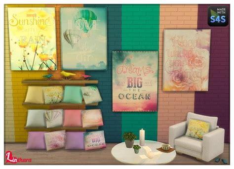 Paintings, Cushions, Walls