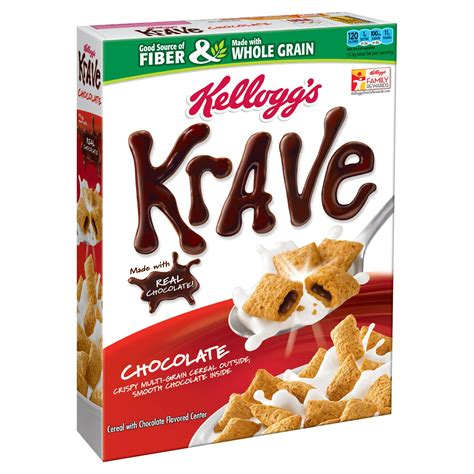 Amazon.com: Kellogg's Krave Breakfast Cereal in a Cup
